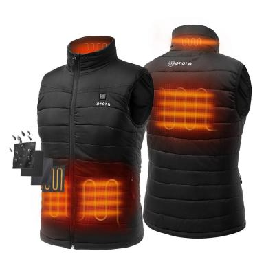 Men's Medium Black 7.4-Volt Lithium-Ion Lightweight Heated Vest with (1) 5.2 Ah Battery and Charger