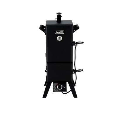 Vertical Double Door Propane Gas Smoker