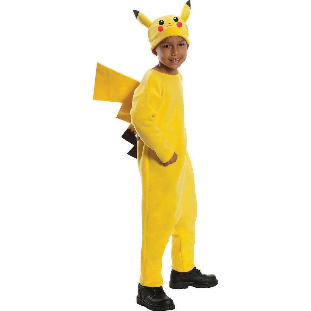 Large Boys Deluxe Pokemon Pikachu Costume