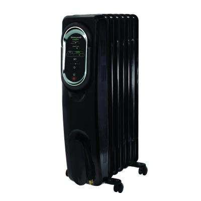 1500-Watt Oil-Filled Radiant Portable Heater with EnergySmart Electric Radiator