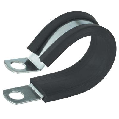 0.5 in. Rubber Insulated Clamp (2-Pack)