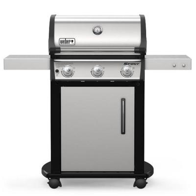 Spirit S-315 3-Burner Propane Gas Grill in Stainless Steel