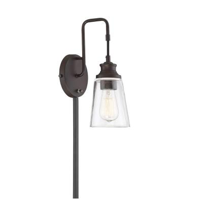 1-Light Oil Rubbed Bronze Sconce
