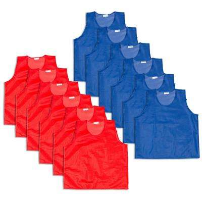 Mesh Practice Jersey - High Quality And Tear Resistant (12-Set)