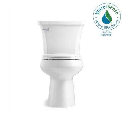 Highline Arc The Complete Solution 2-Piece 1.28 GPF Single Flush Round-Front Toilet in White, Seat Included (3-Pack)