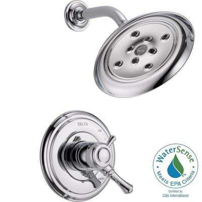 Cassidy 1-Handle Shower Only Faucet Trim Kit in Chrome (Valve Not Included)
