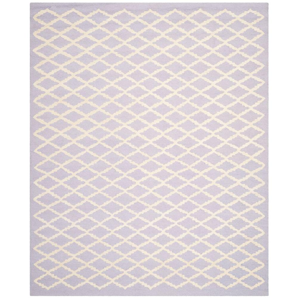 Safavieh Cambridge Lavender/Ivory 8 ft. x 10 ft. Area Rug