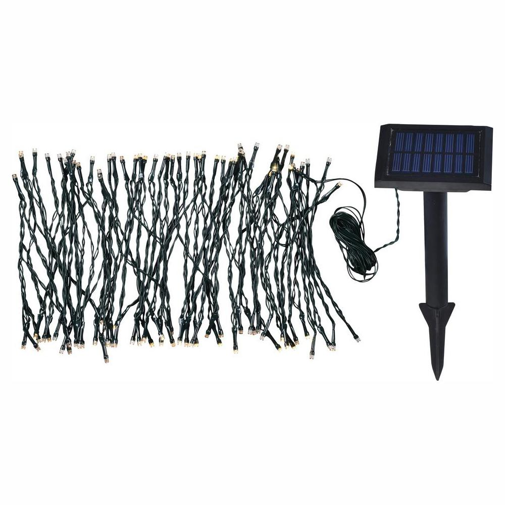 KENROYHOME KENROY HOME Solar Garden 62 in. Integrated LED string Lights