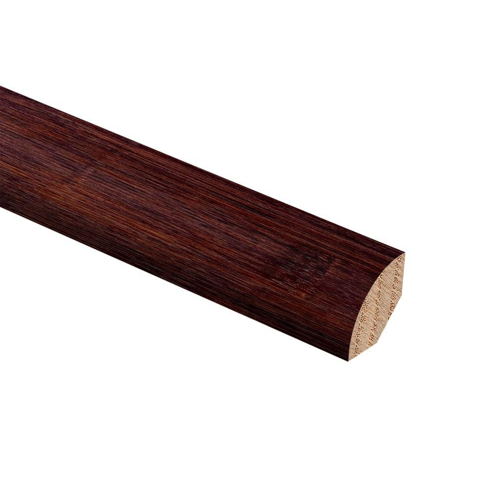 Zamma Bamboo Cafe 3/4 in. Thick x 3/4 in. Wide x 94 in. Length Wood Quarter Round Molding
