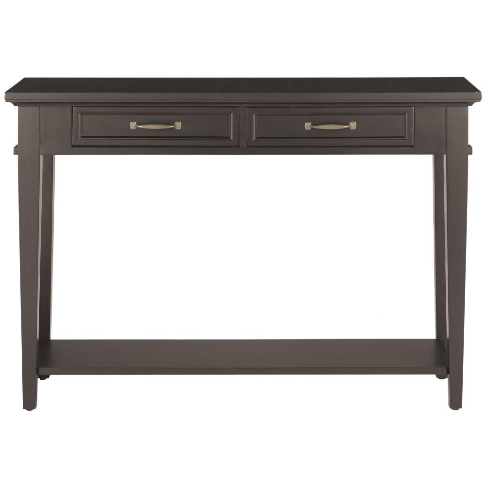 5 Console Table ~ Home decorators collection martin black storage console