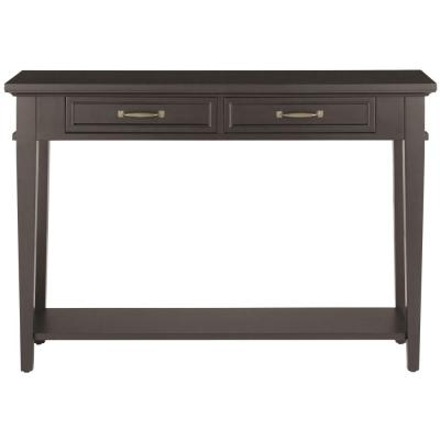 Martin Black Storage Console Table