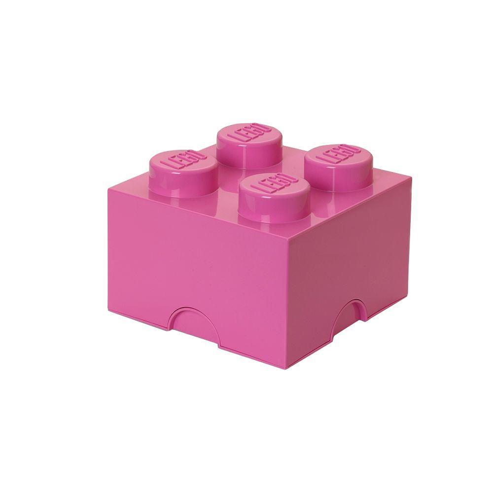 Medium Pink Stackable Box