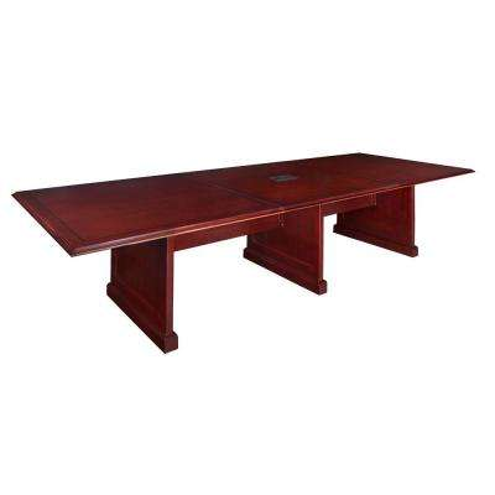 Exalt Mahogany 144 in. Modular Conference Table