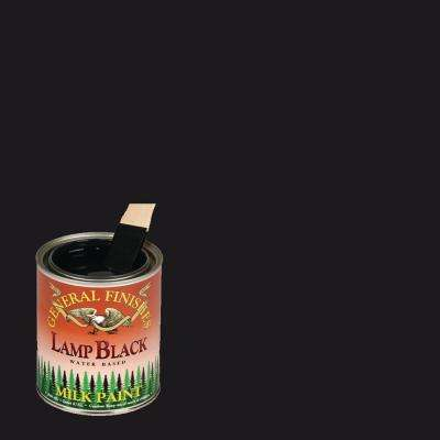 1-qt. Lamp Black Interior/Exterior Milk Paint