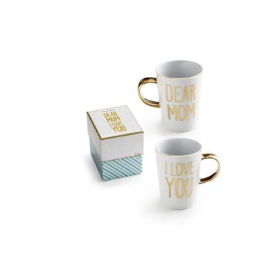14 oz. Charm School Dear Mom I Love You Mug