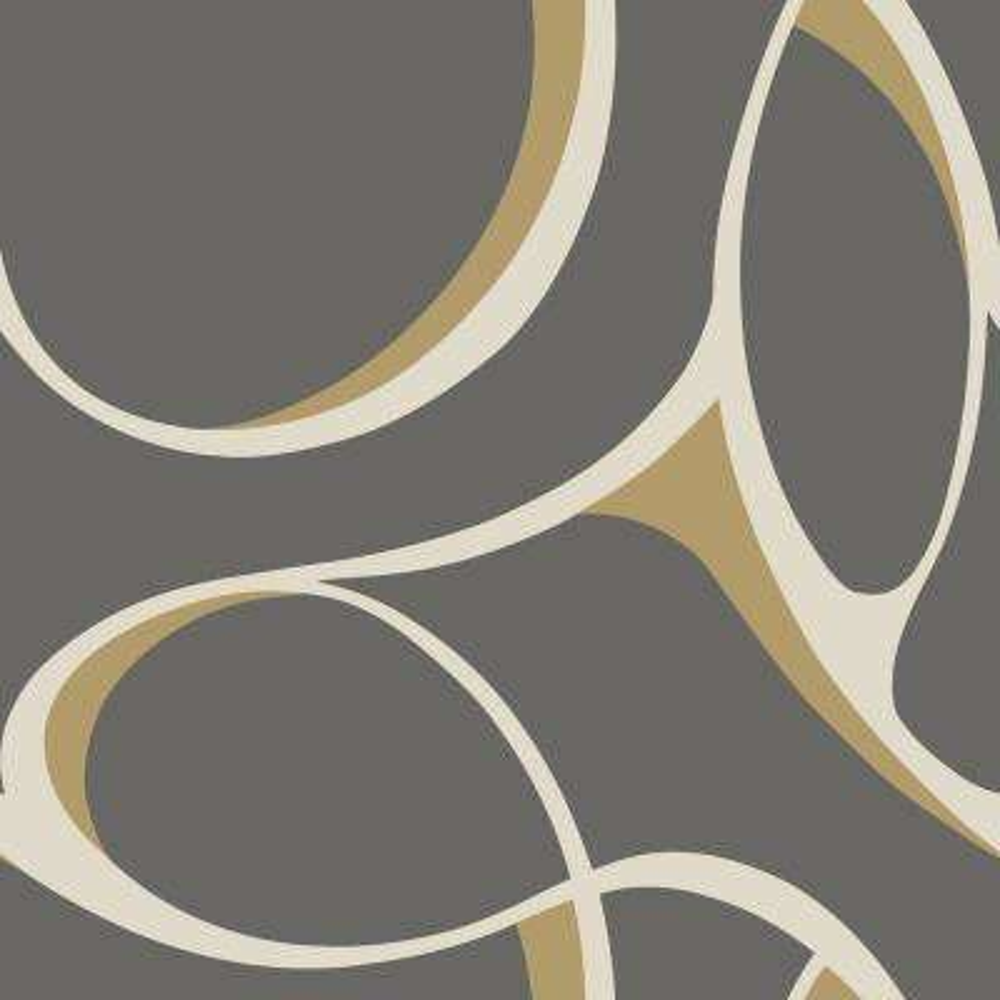Dazzling Dimensions Elliptical Wallpaper