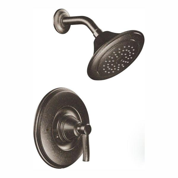 MOEN Rothbury Posi-Temp Single-Handle 1-Spray Shower Faucet Trim Kit in Oil Rubbed Bronze (Valve Not Included)