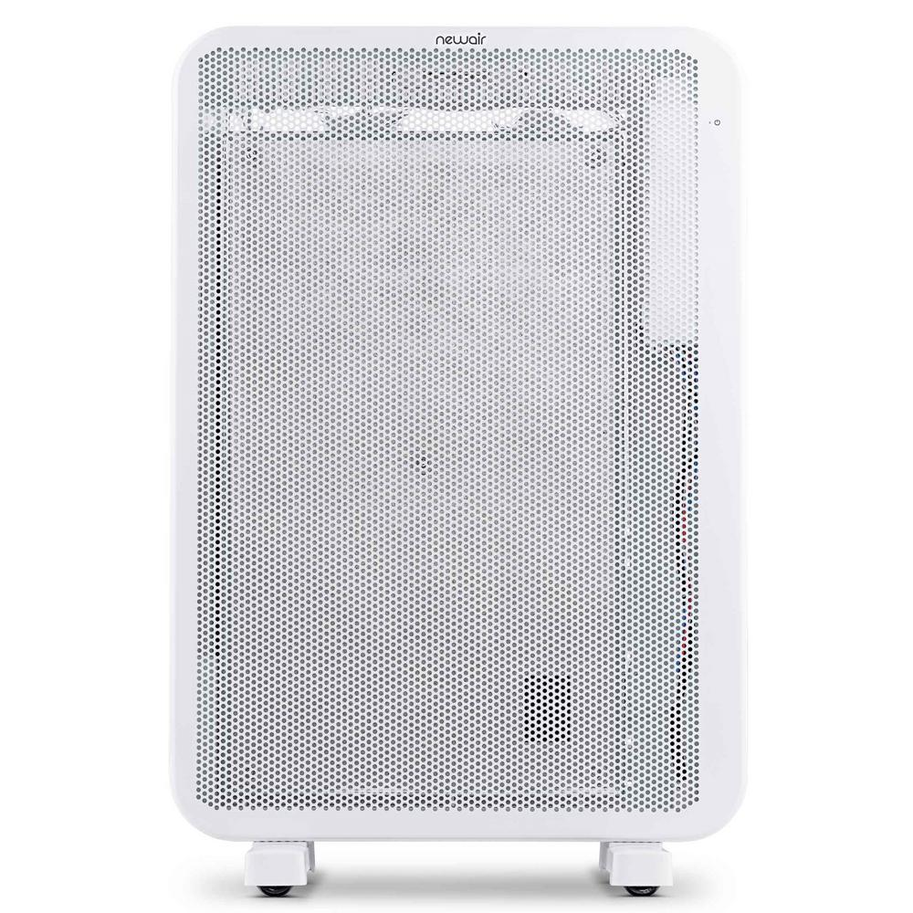 NewAir DiamondHeat 1500-Watt 2-In-1 Electric Portable or Wall Mounted Heater with Silent Convection Cover 160 sq. ft. - White
