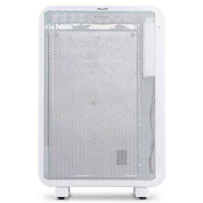 DiamondHeat 1500-Watt 2-In-1 Electric Portable or Wall Mounted Heater with Silent Convection Cover 160 sq. ft. - White