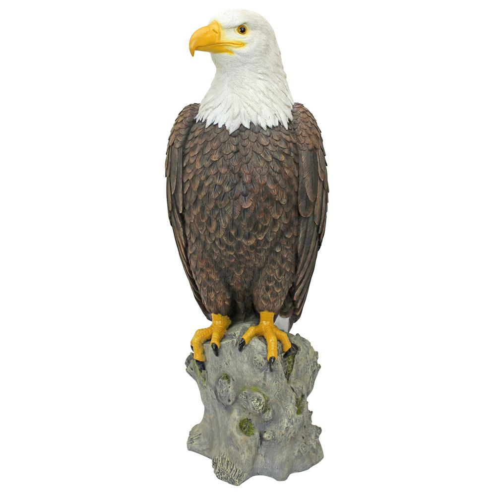 Bald Eagle Statue for Garden Decor Large Figure Home Decor Outdoor Statues