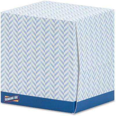 Cube Box Facial Tissue 2-Ply (36 Boxes/Carton)