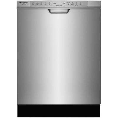 Front Control Dishwasher in Smudge-Proof Stainless Steel with OrbitClean Spray Arm, ENERGY STAR