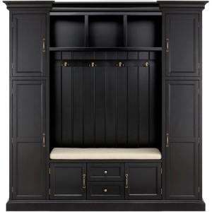 Home Decorators Collection Royce Solid Black 79.25