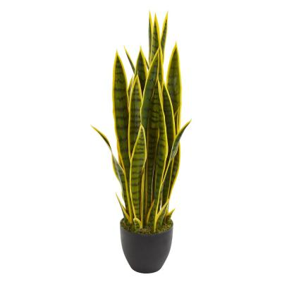 Indoor 33 in. Sansevieria Artificial Plant
