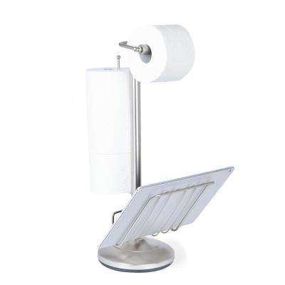 Toilet Paper Holder in Satin Nickel