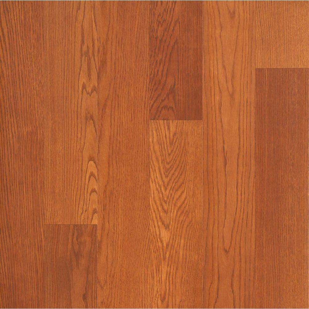 Hampton Bay Brasstown Oak 8 mm Thick x 8-1/8 in. Wide x 47-5/8 in. Length Laminate Flooring (21.36 sq. ft. / case)
