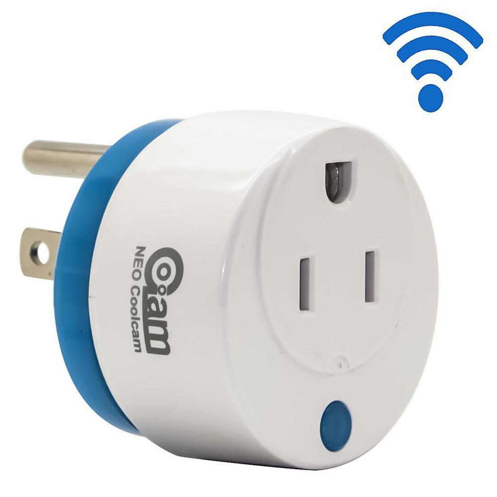 Mini Round Wi-Fi Smart Plug Works with Alexa and Google Home