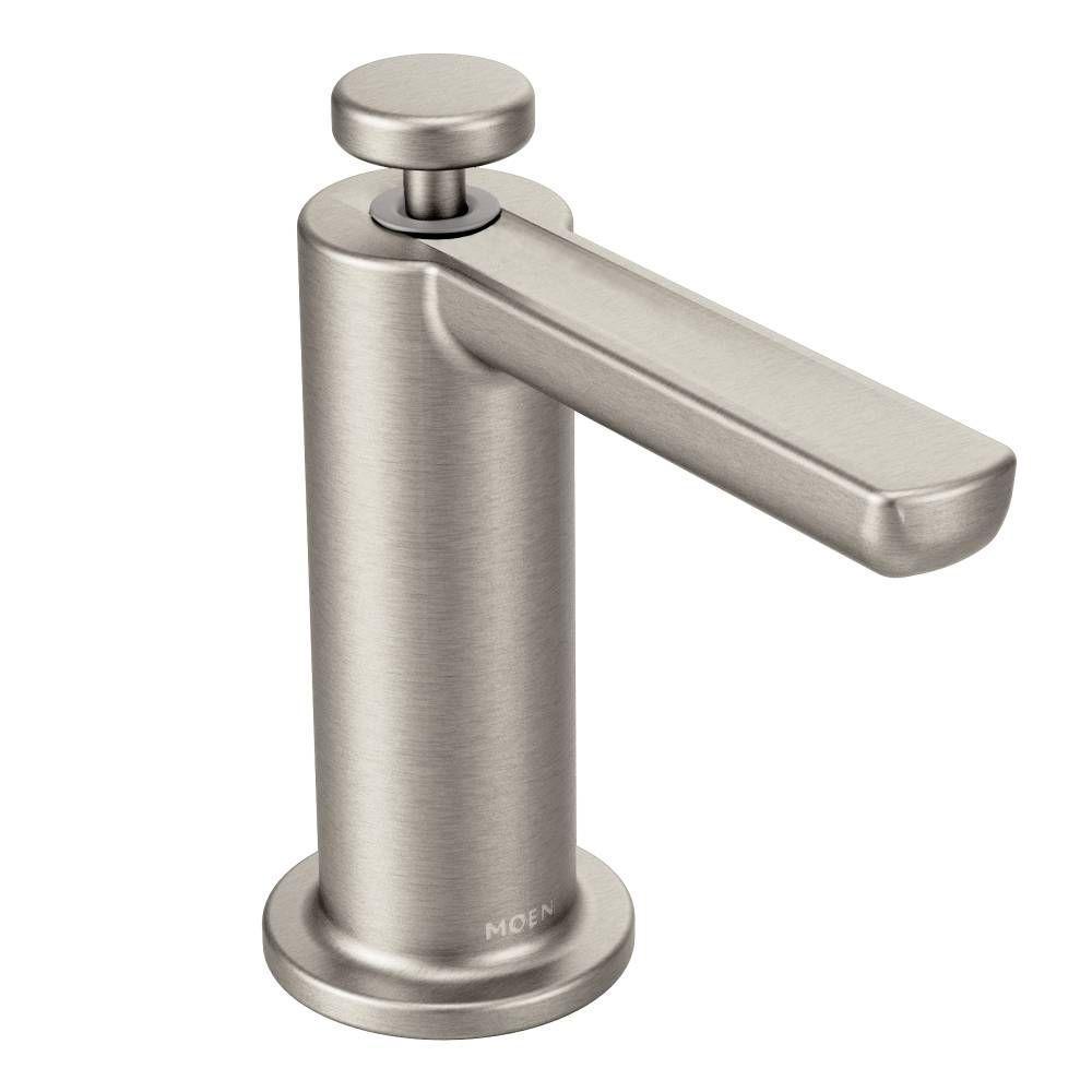 Modern Soap Dispenser in Spot Resist Stainless