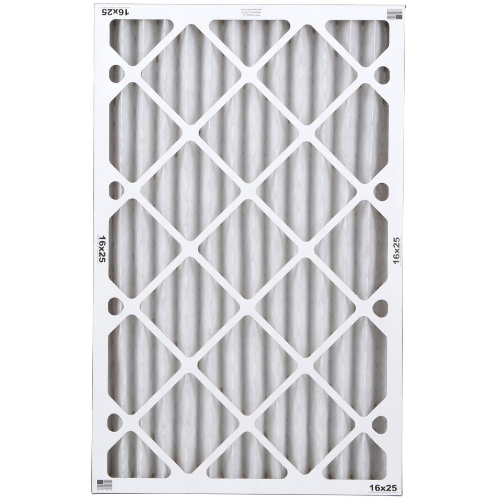 16 in. x 25 in. x 2 in. Commercial Pleated Air