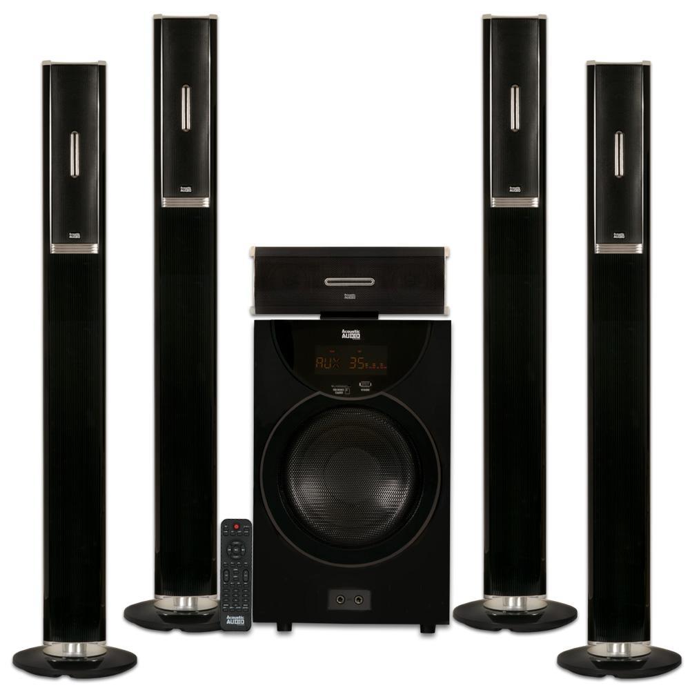 Home Audio Theater Speakers Surround Sound 6 PCS Home Theatre Speakers