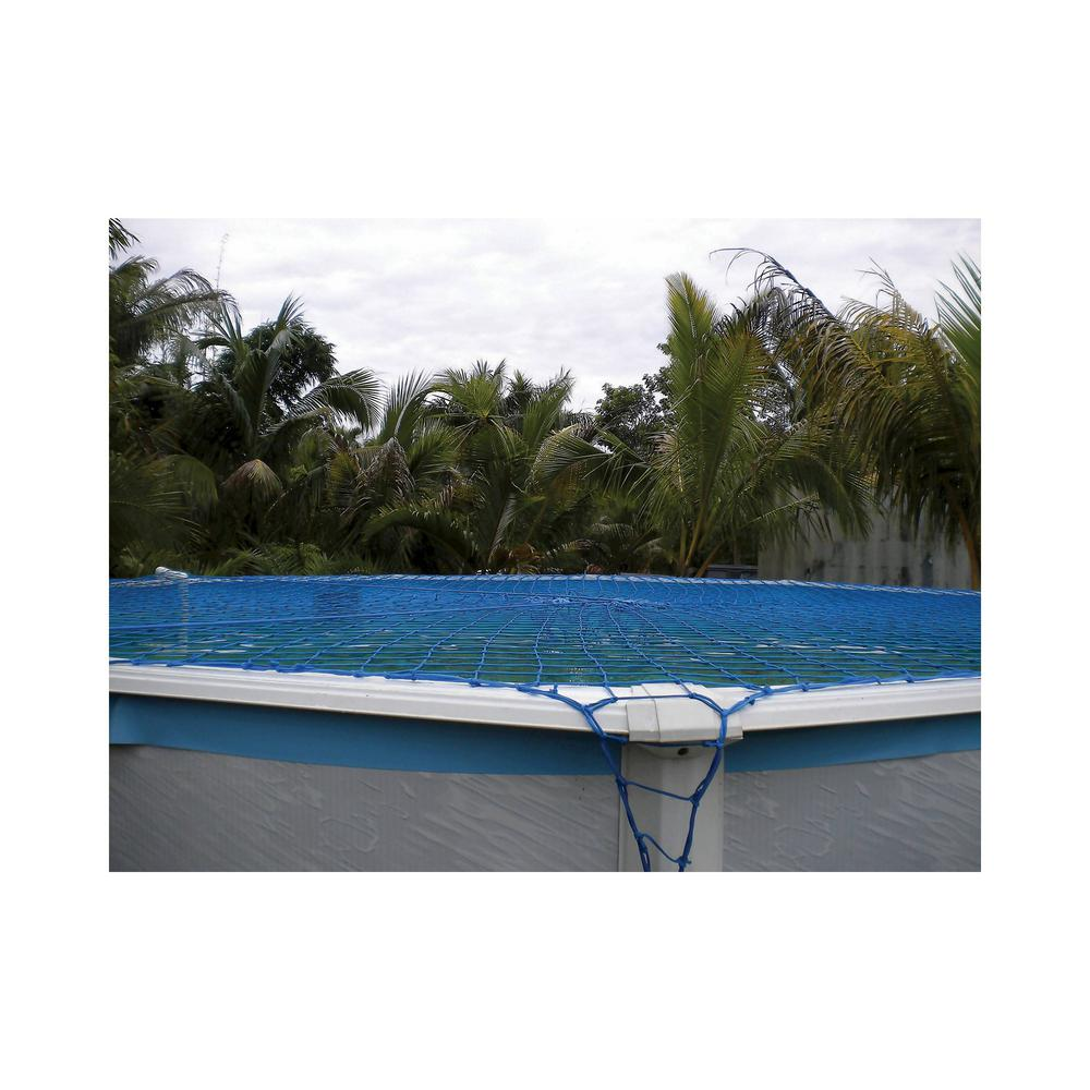 Water Warden Pool Safety Net Cover For Above Ground Up To 27 Ft Round