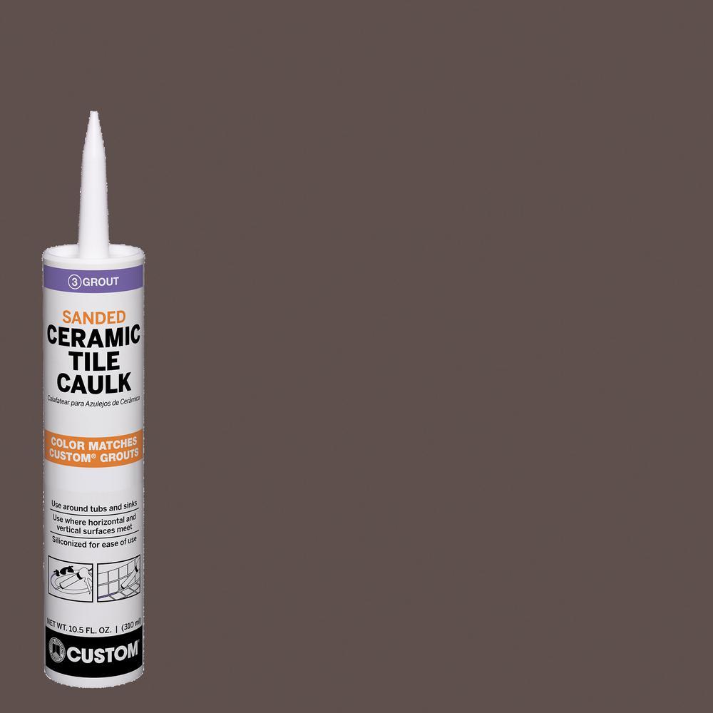 Polyblend #647 10.5 oz. Brown Velvet Sanded Ceramic Tile Caulk
