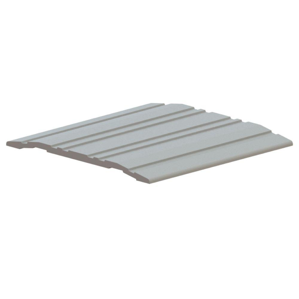 Hager 72 in. x 4 in. x 1/4 in. Mill finish Threshold