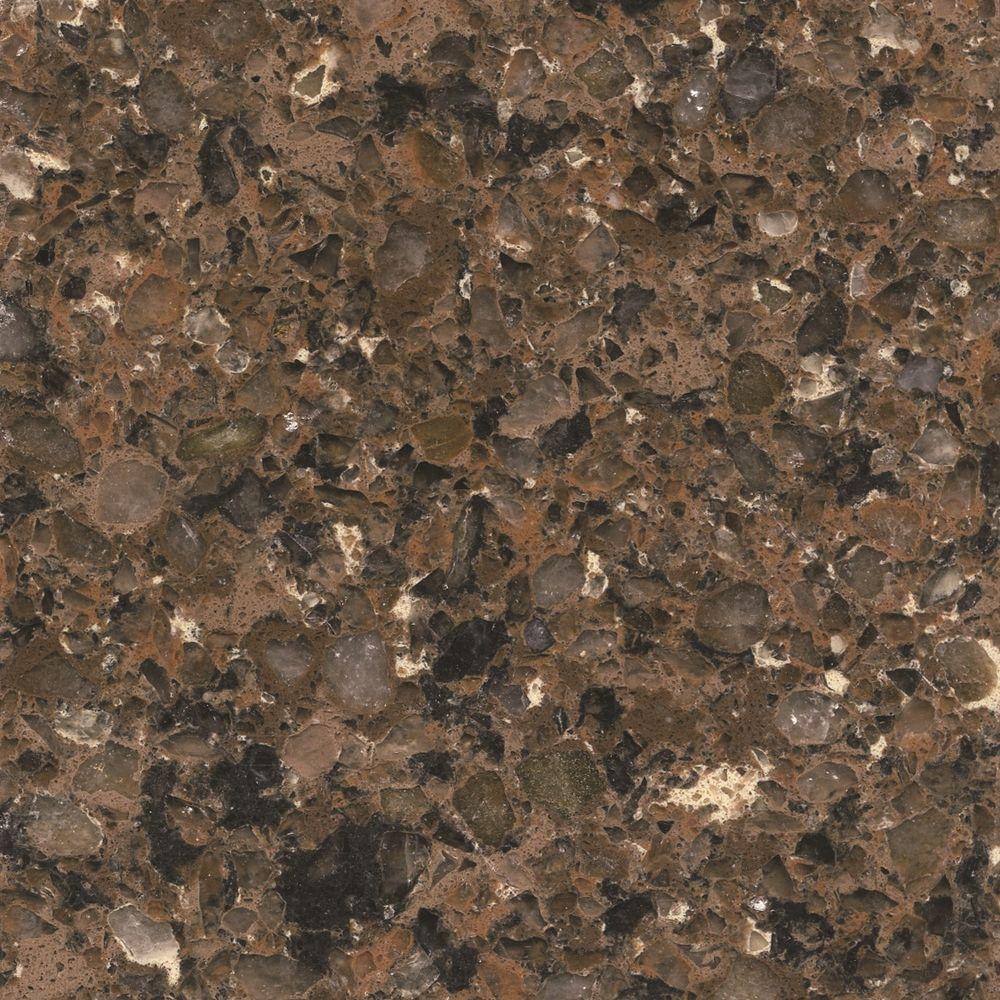 Silestone 2 in quartz countertop sample in sierra madre for 2 inch quartz countertop