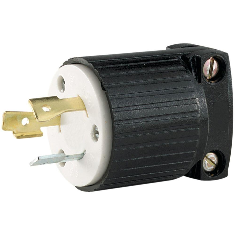 Reliance Controls Twist Lock 20 Amp 125 250 Volt Plug