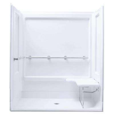 White - STERLING - Shower Stalls & Kits - Showers - The Home Depot