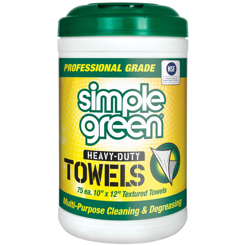 Simple Green Pro Grade Heavy-Duty Towels (75-Count)