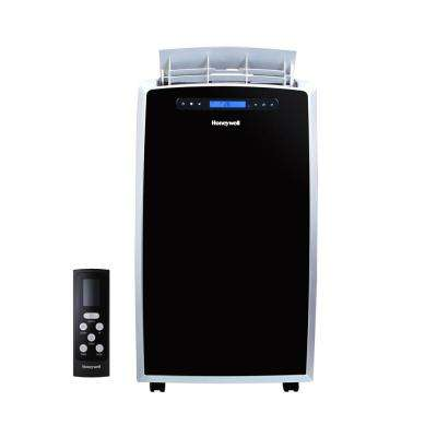 Great 14,000 BTU, 115 Volt Portable Air Conditioner With Dehumidifier And Remote  Control In Black