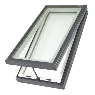 22-1/2 in. x 46-1/2 in. Fresh Air Venting Curb-Mount Skylight with Tempered Low-E3 Glass