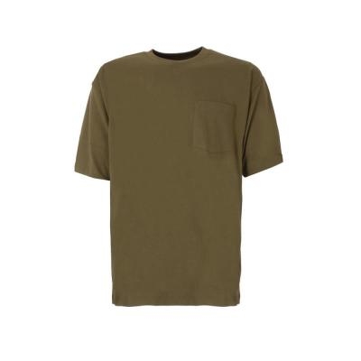 Berne Men S Extra Large Regular Light Olive Cotton And Polyester Heavy Weight Pocket T Shirt Bsm16lovr480 The Home Depot