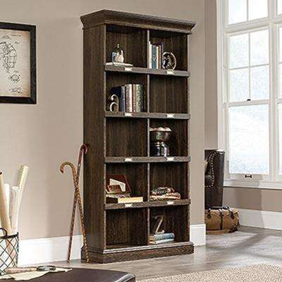 Barrister Lane Iron Oak Tall Cubbyhole Bookcase