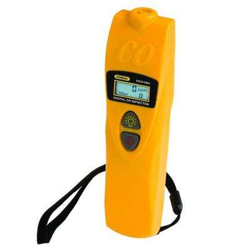 Digital Carbon Monoxide Detector with Auto Zero Function