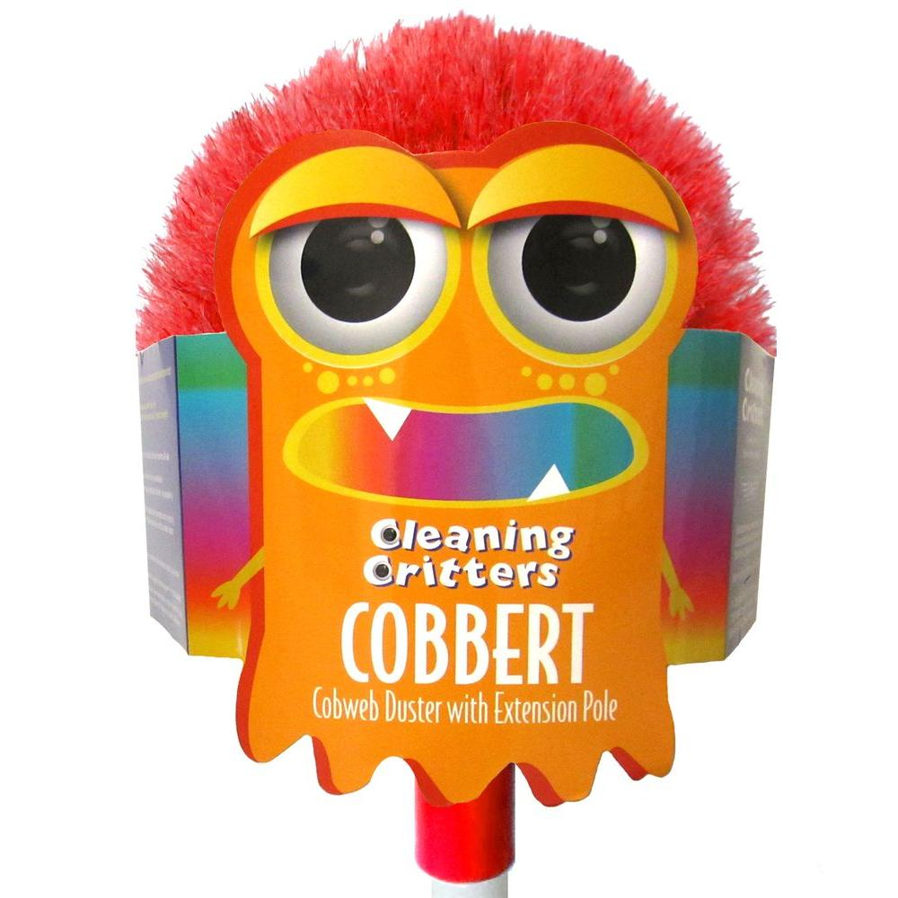 Ettore Ettore Cleaning Critters Cobbert Cobweb Duster with Extension Pole