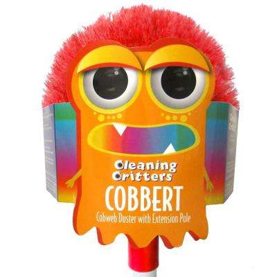 Cleaning Critters Cobbert Cobweb Duster with Extension Pole