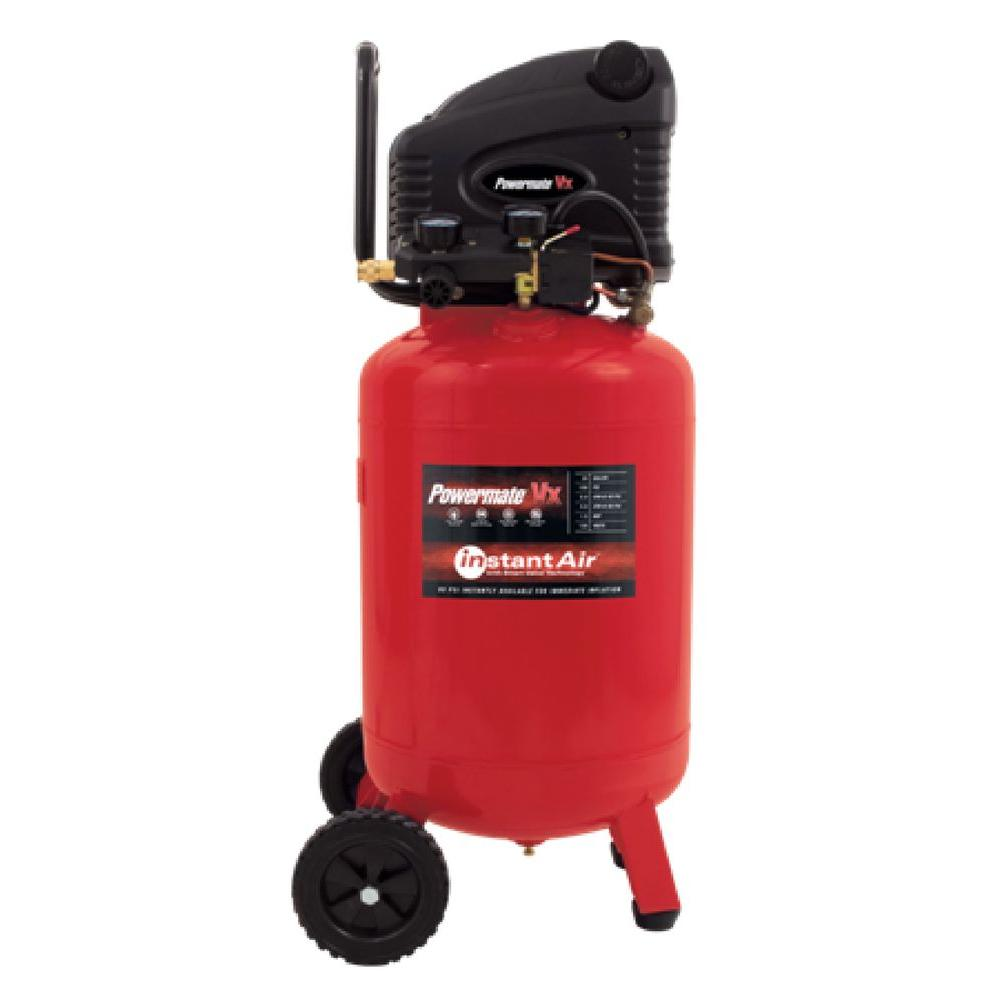 Powermate VX 20 Gal. Vertical Electric Air Compressor with Instant Air