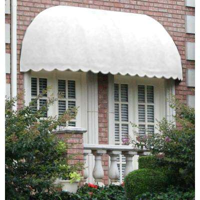 10 ft. Chicago Window/Entry Awning (31 in. H x 24 in. D) in Off-White